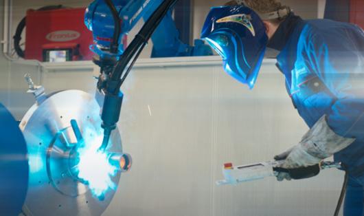 Schweissroboter bei duomet