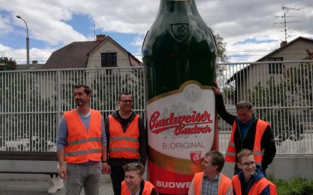Bierflasche Budweis