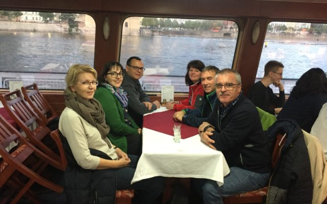 Bootfahrt Moldau